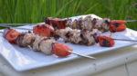 Brochettes de dinde aux graines de sésame