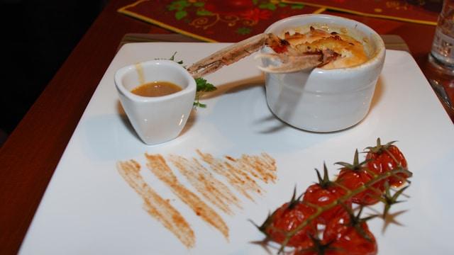 Langoustine en soufflé