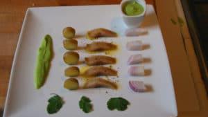 Recette de Salade de hareng fumé