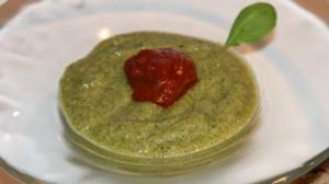 Recette de gaspacho de courgettes au basilic