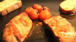 Foie gras poêlé aux griottes