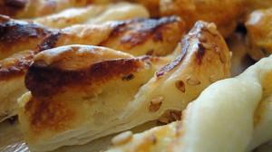 Recette de Tortillons au Roquefort