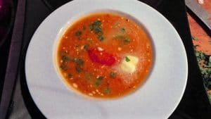 Recette de Soupe de tomates