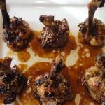 Ailes de poulet mrinés Terminer