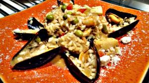 Recette de Risotto aux fruits de mer