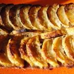 Tarte sablée aux pommes Terminer