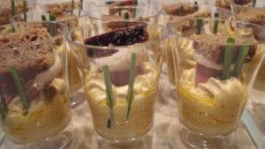 Recette de Verrine au foie gras