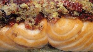 Recette de Pavé de saumon en croute de moutarde