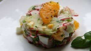 Recette de Salade de radis