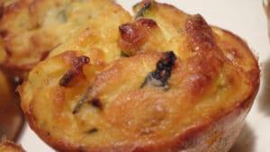 Recette de Muffins de courgette