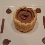 Mini charlotte au chocolat Terminer