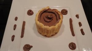 Recette de mini charlotte au chocolat