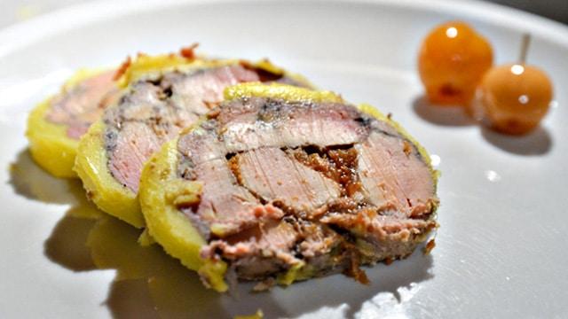 Foie gras aux figues Terminer