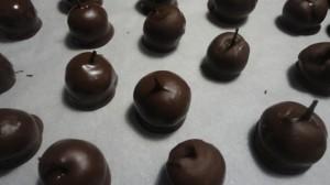 Recette de griottes au chocolat