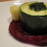 Courgettes farcies au four Terminer