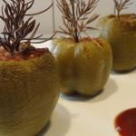 Poivrons verts farcis Terminer