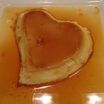 Flan caramel St Valentin a déguster