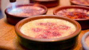 Recette de Crème brulée framboises