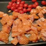 Risotto-au-saumon-Plaque de cuisson
