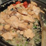 Risotto-au-saumon-Ajouter le saumon