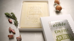 Livre de cuisine mangeable: real cook book