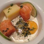 Oeuf-cocotte-au-saumon-Crème