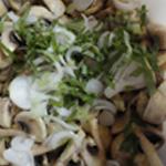Salade-de-champignons-Basilic frais