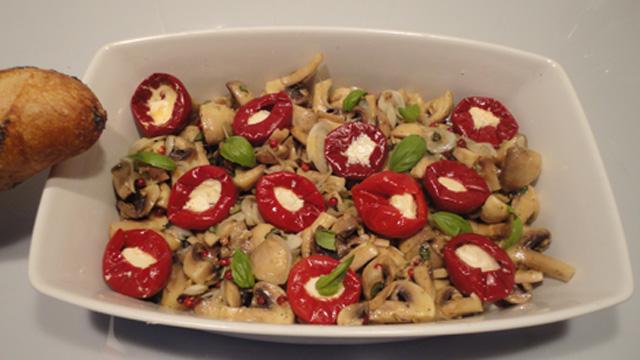 salade de champignons cuisine maison un blog cuisine sur les recettes maisons. Black Bedroom Furniture Sets. Home Design Ideas