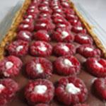Tarte-Framboises-chocolat-Prete