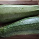 Grattin-de-courgettes-Rincer les courgettes