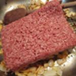 Grattin-de-courgettes-Saisir la viande