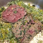 Brochettes-viande-Cuire le boeuf