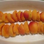 Clafoutis-aux-abricots-Ranger les abricots
