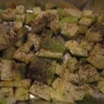 Flan-de-courgettes-Cuire au four