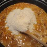 Risotto-andouillettes-Semer le parmesan