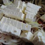 Salade-à-la-Grecque-Cube de feta