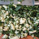 Salade-de-pois-chiche-Couper les oignons