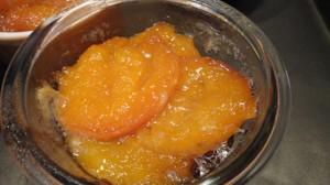 Recette de Tatin d abricots en verrine