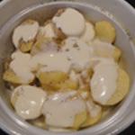 Andouillette-au-chaource-Ajouter la crème