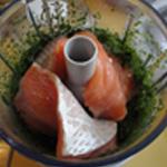 Apéritif-au-saumon- Ajouter le saumon