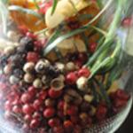 Chanterelles-au-vinaigre-Les baies rouges