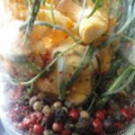 Chanterelles-au-vinaigre-Le poivre en grain