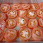 Lasagnes-légumes-Trancher les tomates