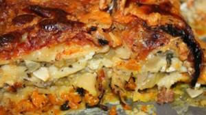Recette de Lasagnes aux legumes