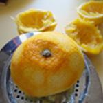 Liqueur-abricot-Presser le fruit