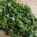 Salade-de-gras-double-Rincer le persil