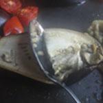 Soupe-aux-aubergines-Recuperer la chair