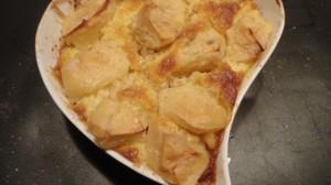 Recette de Clafoutis aux pommes