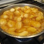 Verrine-de-pommes-Pomme confite