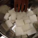 caramel maison Concasser le sucre